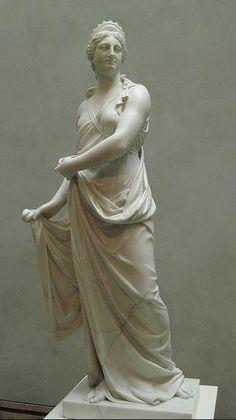 Statue of Juno - Hera,  at The Getty Villa, USA