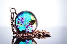 Resin Art | Nebula resin necklace -Resin art pendant by Uxorboutique on DeviantArt
