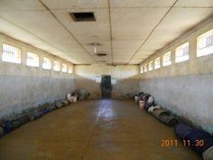 A prison cell in Kamiti Medium Security Prison