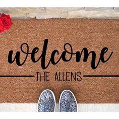 Cute Door Mats, Front Door Mats, House Front Door, Entry Mats, Front Stoop, Welcome Signs Front Door, Welcome Door Mats, Funny Welcome Mat, Personalized Welcome Mats