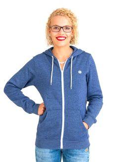 ELEMENT ERIN ZH SWEATJACKE FEELING BLUE www.fourseasonsclothing.de  #element #zipper #girls
