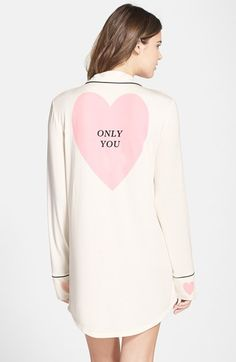 """""""only you"""" sleep shirt #valentinesday #vday #gift found at @nordstrom"""