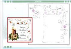 Card Patterns, Stitch Patterns, Embroidery Cards, Winter Cards, String Art, Alphabet, Mandala, Bullet Journal, Christmas