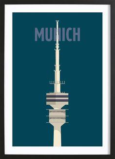 Munich VON Designliga Products now on JUNIQE!