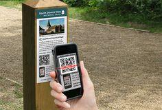 QR code scanning mobile app