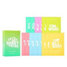 I DEW CARE Let's Get Sheetfaced - 14 Day Sheet Mask Set