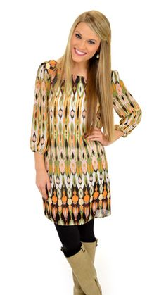 Bright colors that are still fall appropriate and can match any tights or boots! $59 at shopbluedoor.com