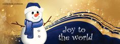 Snowman Christmas Facebook cover photo
