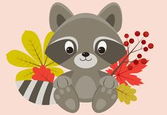 Create a Сute Raccoon Character in Adobe Illustrator - Tuts+ Design & Illustration Tutorial Web Design, Graphic Design Tutorials, Flat Design, Vector Design, Design Trends, Character Design Cartoon, Character Design Tutorial, Adobe Illustrator Tutorials, Photoshop Illustrator