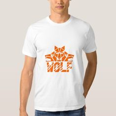 Wolf Pack Head Retro T-Shirt. Illustration of a pack of wolf heads viewed from front set on isolated white background with the text word Wolf done in retro style. #Illustration #WolfPackHead