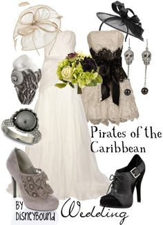 Pirates of the Caribbean Wedding by DisneyBound