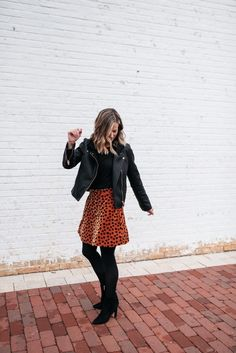 Fashion Look Featuring Madewell Plus Skirts and Sam Edelman Boots by mykindofsweet - ShopStyle Winter Fashion Casual, Autumn Winter Fashion, Winter Style, Fall Fashion, Party Fashion, Winter Dresses, Winter Outfits, Nye Outfits, Skirt Outfits