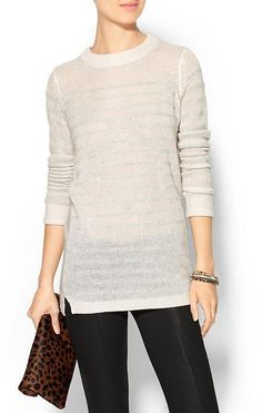 Rebecca Taylor Striped Sweater is on sale now for - 25 % !