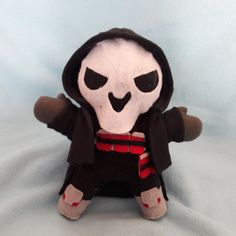 Overwatch Reaper Plush by PBandJFinds on Etsy