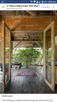 An interior designer transforms his provincial childhood home into a grown-up bahay kubo that pays homage to his roots and design journeys Bahay Kubo Design Philippines, Philippines House Design, Industrial House, Modern Industrial, Home Room Design, Interior Design Living Room, Bamboo House Design, Bali, Philippine Houses