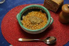 Zuppa di cicerchie alla curcuma