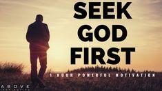 Motivational Videos Youtube, Todays Devotion, Motivation Youtube, Human Dignity, One 1, Seeking God, God First, Morning Motivation, Knowing God