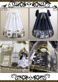 phantom gate Aラインワンピース | metamorphose temps de fille - gothic & lolita fashion in Japan