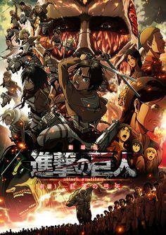 Poster for the upcoming Shingeki no Kyojin movie #shingeki