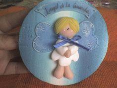 *COLD PORCELAIN ~ angelito de la guarda by artesaniasdulcedeleche-porcelana fria, via Flickr