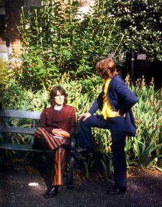 The-Beatles-George-Harrison-Ringo-Starr-Photo-Print-14-x-11