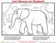 Fun Facts and Printables About Elephants and Elephant