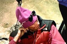 Anatoli Boukreev on our trek in to Base Camp 1996
