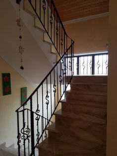 Stairs, Home Decor, Travertine, Stairway, Staircases, Interior Design, Ladders, Home Interior Design, Ladder