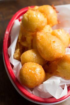 honey butter corn fritters ohsweetbasil.com