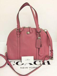 Satchel Handbags, Leather Handbags, Coach Leather Cleaner, Shoulder Strap, Purses, Group, Silver, Ebay, Accessories