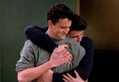 Chandler Bing and Joey Tribiani best bros