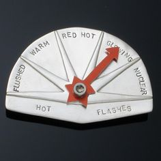Hot flashes pin! Hilarious!  ...would totally work for a teacher's patience level too! hahaha