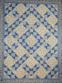 #quilts Cottage Blues