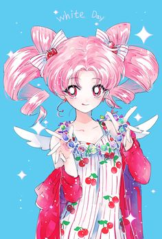 Chibiusa from Sailor Moon