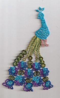 Ginny's Tatting: Peacock
