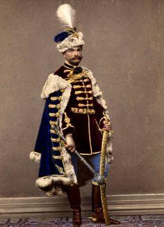 El Conde Alejandro Teleki de Szék (1821 - 1892) Historical Dress, Folklore, Inktober, Romania, Mists, Trench, Character Design, Royalty, Military