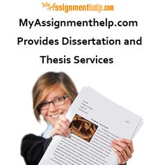 MyAssignmenthelp offer our thesis and dissertation services at an affordable rate. We have 3000+ PhD experts. Our academic writers compose impeccable academic papers. We deliver help materials prior to the deadline. We provide our dissertation and thesis help services for all subjects. Our highly-skilled and experienced writers compose plagiarism free content. @ https://myassignmenthelp.com/dissertation/dissertation-thesis-help.html
