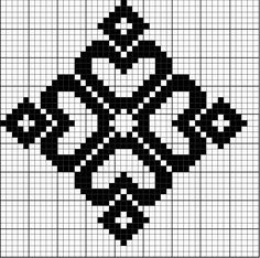 Best 12 Simple Redwork Cross stitch pattern for Borders, Bookmark or as Motifs – SkillOfKing. Filet Crochet Charts, Knitting Charts, Knitting Stitches, Sock Knitting, Knitting Machine, Vintage Knitting, Free Knitting, Knitting Patterns, Cross Stitching