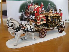 Department 56 Dickens Queens Parliamentary Coach