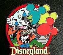 disney goofy collector's pin