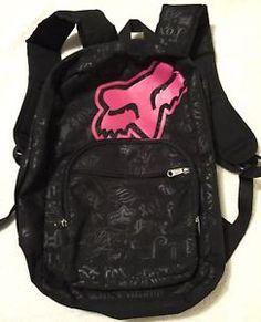 Fox Racing Backpack Black   eBay