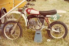 Heikki Mikkola Husqvarna 250 cc. 1976