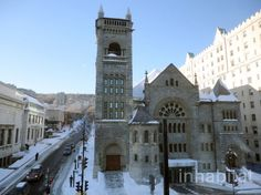 Historic Church With Tiffany Stained Glass Transformed into Beautiful Concert Hall for Montreal