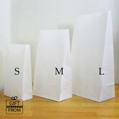 x12-50-100-White-Paper-Gift-Wedding-Party-Favor-bags-Lunch-candy-buffet-bag
