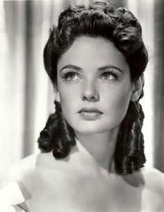 Gene Tierney. If you can find a bio on this beautiful but tragic life, I would highly recommend.