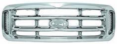 IPCW CWG-FD1107A0C Ford Super Duty Chrome Grille