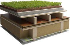 Tetto Piano ventilato - Naturalia BAU House, Home Decor, Houses, Flat Roof, Homemade Home Decor, Haus, Interior Design, Home Interiors, Homes