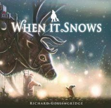 The snow doesn't stop one little boy from having a big Christmas adventure. This beautifully illustrated story celebrates the power of books, reading and imagination. When It Snows by Richard Collingridge Childrens Christmas, Christmas Books, Childrens Books, Father Christmas, Good Books, My Books, Little Library, Book Corners, Children's Picture Books