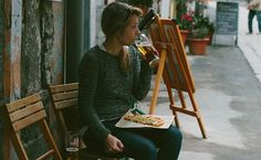 People eating alone is not a problem.