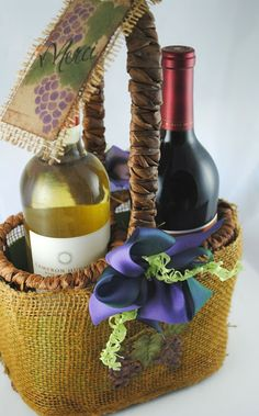Love this gift basket idea